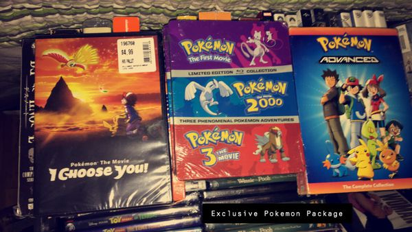Exclusive Pokemon Package