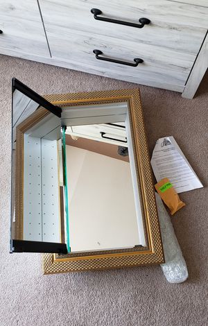 Mirrored Cabinet New..was $699 for Sale in Las Vegas, NV