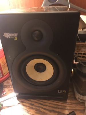 Rokit powered 5 amp KRK systems for Sale in Boothbay Harbor, ME