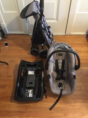 Evenflo Sibby Travel System with LiteMax 35 Infant Car Seat for Sale in St. Louis, MO