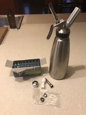 Stainless Steel Whipped Cream Dispenser for Sale in Portland, OR