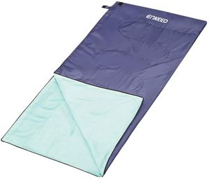 ENKEEO Sleeping Bag Spring Summer Lightweight Compact Waterproof for Kids Adults, Can Be Zipped 2 Into An Extra Wide Double Size, Grey-Purple, Single for Sale in Las Vegas, NV
