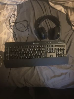 Corsair KB and Steel series bundle for Sale in Clarksville, TN