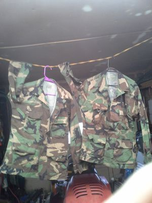 Us army camo shirts for Sale in Edgewater Park, NJ