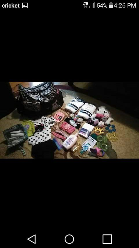 Lot of baby girl stuff