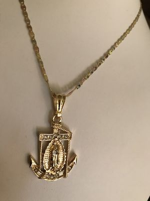 BRONZE 14K GOLD PLATED GOLD PLATED CHAIN ANCHOR GUARANTEED $ 30 PICK UP ONLY PLEASE. PORFABOR SINO ESTÁS INTERESADO NOAGAS MENSAJE TU TUEMPO ES TA for Sale in Riverside, CA
