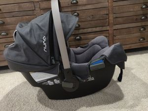 Nuna pipa 2016 car seat and base for Sale in Bothell, WA