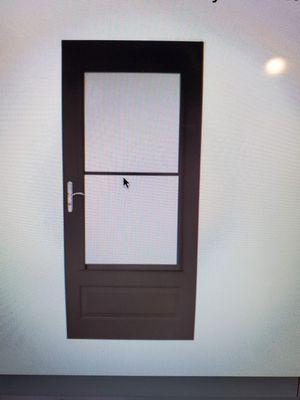 Storm Screen Door -New for Sale in Leavenworth, WA