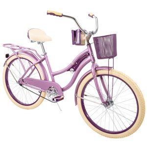 "Huffy 24"" Nel Lusso Girls' Cruiser Bike Purple for Sale in Castro Valley, CA"