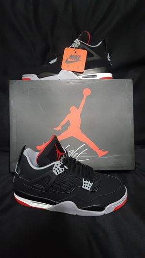 Jordan retro 4 Breds size 9 for Sale in Waverly, FL