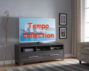NEW, Galaxy TV Stand up to 70in TVs, Distressed Gray, SKU# 171916 for Sale in Garden Grove, CA