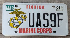 Florida Marine Corps License Plate for Sale in Fort Defiance, VA