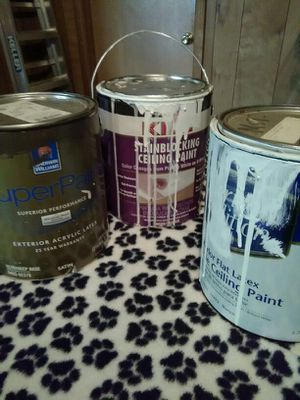Paint and other building materials for Sale in Kansas City, MO