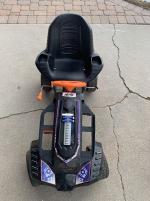 Nerf Battle Racer pedal car for Sale in Brighton, CO