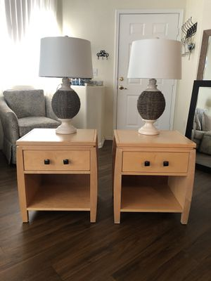 Two nightstands $20 for the set! for Sale in Henderson, NV