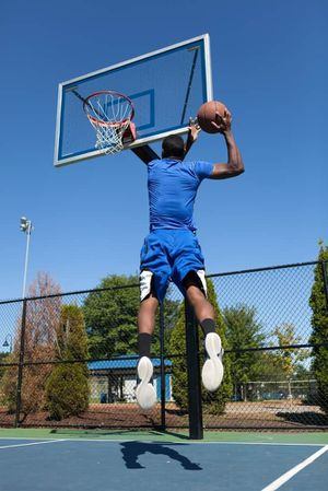 Lifetime 54 inch in ground basketball court for Sale in Los Angeles, CA