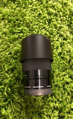 Sony E 4.5-6.3/55-210 OSS lens for Sale in Atlanta, GA