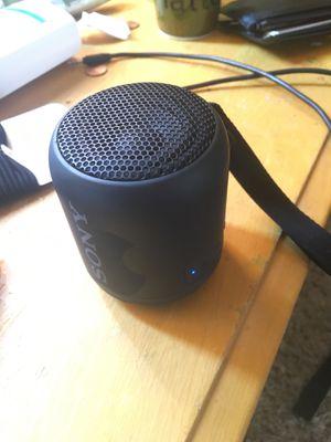 Sony Bluetooth speaker w aux for Sale in Fontana, CA