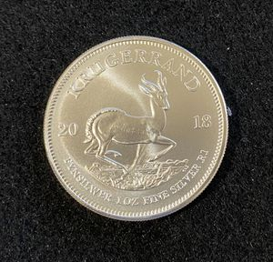 2018 Krugerrand- pure Silver 999 for Sale in Santee, CA