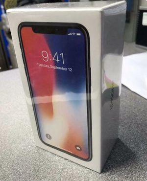 New iPhone X 64GB (Brand new) for Sale in Berkeley, CA