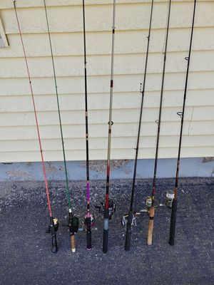 Fishing Poles - READ AD for Sale in Enfield, CT