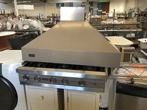Viking cook top with hood vent for Sale in Oakland, CA