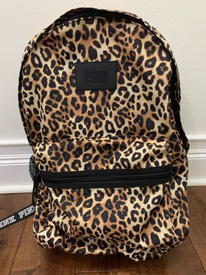 Victoria Secret PINK Leopard Cheetah Backpack Bookbag for Sale in Chicago, IL