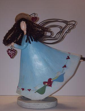 RUSS Berrie Dancing Angel Resin Figurine 21438 Country Gatherings for Sale in Lakewood, WA