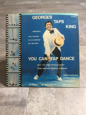 Georges Taps King Vinyl LP Record - YOU CAN TAP DANCE for Sale in Poway, CA
