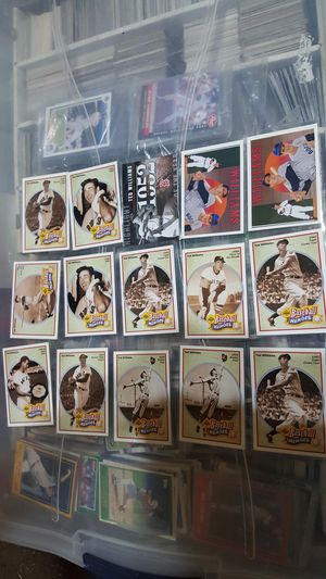 Ted williams baseball card lot of 15 cards for Sale in Brooklyn, NY