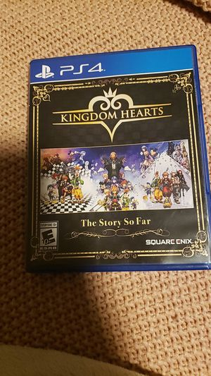 Kingdom Hearts PS4 for Sale in Niagara Falls, NY