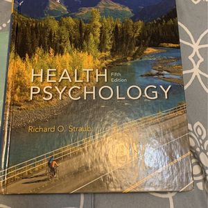 Health Psychology Fifth Edition for Sale in Detroit, MI