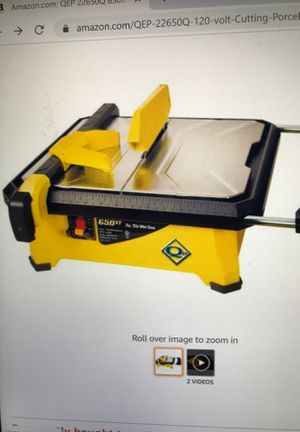 Tile saw for Sale in Charlotte, NC