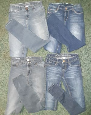 Girls Jean's all size 12, except one pair is 1 in junior's, Cherokee and Rebel Brand for Sale in El Dorado, AR