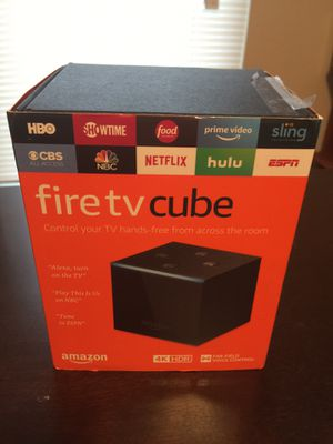 Amazon Fire TV Cube for Sale in Lewisville, TX