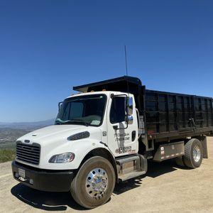 Bobcat Dump Truck Grading Demo for Sale in Chino, CA