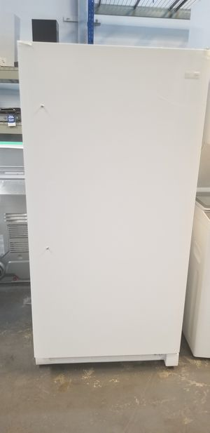 Upright Freezer White Frigidaire 14 CU ft $39 Down Payment Only for Sale in Houston, TX