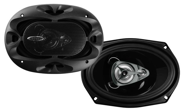 """Boss coaxial speaker 3-way 6x9"""" inch for $25 Brand new in the box with warranty A pair for $25"""