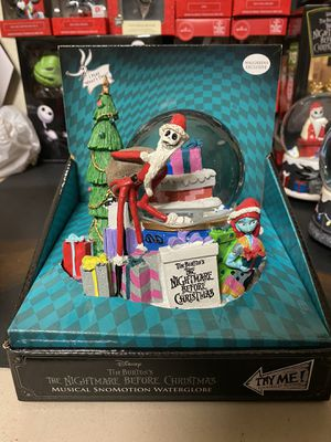 Nightmare Before Christmas Snow globes *NEW* Choose your style price for each for Sale in Lake Charles, LA