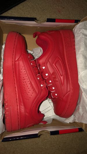 red low filas size 7.5 for Sale in Annandale, VA
