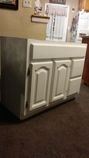 All solid wood vanity for Sale in Chesapeake, VA