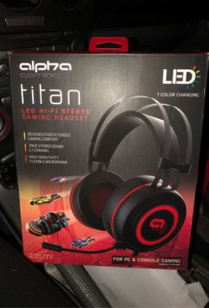 Alpha Gaming Headphones for Sale in Woonsocket, RI