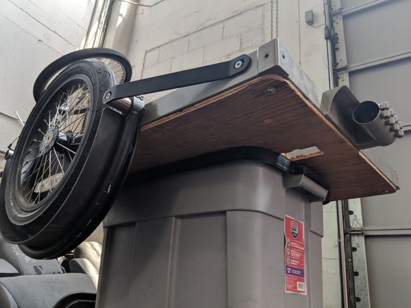 Surly Ted trailer and hitch