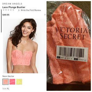 New Victoria secret Bustier size xlarge for Sale in Antioch, CA
