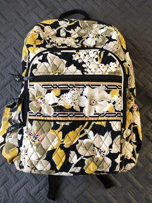 Yellow/Black Vera Bradley Backpack for Sale in Fairfax, VA