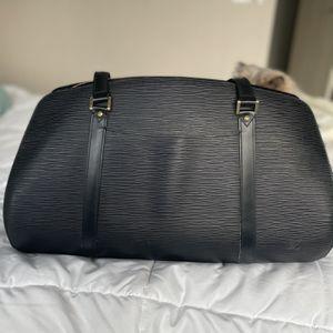 Vintage Louis Vuitton Epi Soufflot Hand Bag Black for Sale in Miami, FL