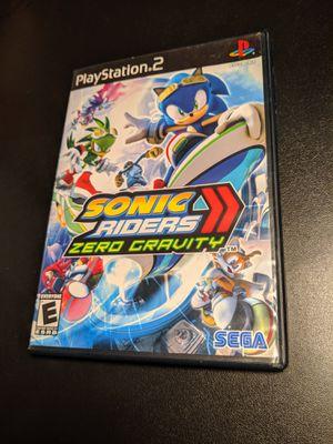 Sonic riders zero gravity ps2 for Sale in Sacramento, CA