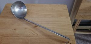 Long handled Large Ladle/Dipper, stainless steel. 16in. Dipper 4 1/2 across for Sale in Clovis, CA