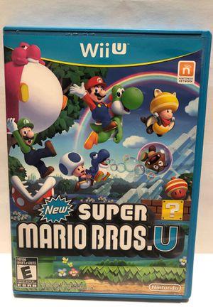 Nintendo Wii U New Super Mario Bros for Sale in Chicago, IL