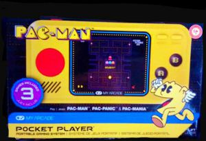 My Arcade Pac-Man Pocket Player Portable Gaming System With 3 built in games for Sale in Los Angeles, CA